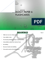 IGCSE Biology Paper 6 Cards
