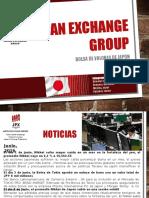 Presentación Bolsa de Valores de Japon