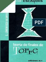 03 - Teoría de Finales de Torre (G Löwenfisch & W. Smyslov)