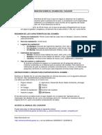 Informacion Examen Del Cazador 2014
