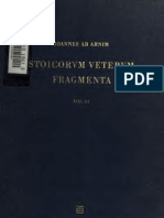 Stoicorum Veterum Fragmenta, ed. I. ab Arnim, Vol. III, Stuttgart 1964