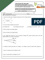avaliação reclassificação matemática