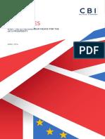 Les enjeux du référendum sur l'Union européenne vus par la Confédération de l'industrie britannique
