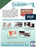 Banner Fio Dental.