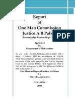 Justice AB Palkar Commission of Inquiry Report VOLUME-II