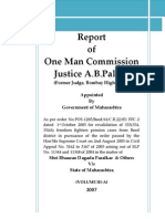 Justice AB Palkar Commission of Inquiry Report Volume III