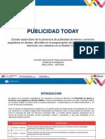 Estudio Publicidad Today Conatel 2016 2