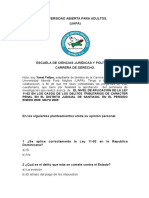 Cuestionario Para La Operalizacion de Las Variables de Yanet Felipe II