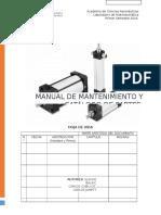 Manual de Mantenimiento y Catálogo de Partes