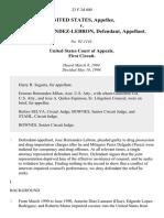 United States v. Hernandez Lebron, 23 F.3d 600, 1st Cir. (1994)