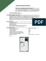 Especificaciones Técnica Se400kva