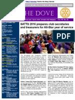RC Holy Spirit THE DOVE Vol. VIII No. 42 June 14, 2016