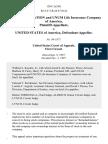 Unum, Corporation v. United States, 130 F.3d 501, 1st Cir. (1997)