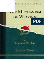 The Mechanism of Weaving 1000019936