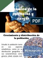 Dinámica de La Población y Riesgos