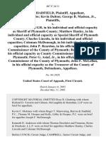 Hadfield v. McDonough, 407 F.3d 11, 1st Cir. (2005)