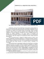 Plateresco y Purismo en La Arquitectura Española Del Xvi