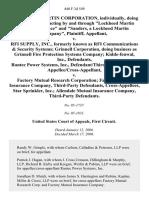 Lockheed Martin Corp v. Rantec, 440 F.3d 549, 1st Cir. (2006)