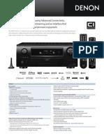 Denon AVR-3310CI_Lit629
