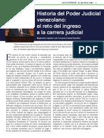 Historia Del Poder Judicial Venezolano