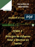 Tema 2 Esfuerzos Totales y Efectivos 2015-1