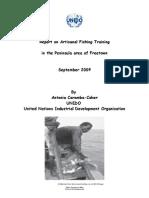 Report on Artisanal Fishing Training 1