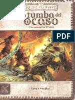 Aventura Lv 3 - Reinos Olvidados - La Tumba Del Ocaso