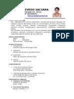 Curriculum Acevedo