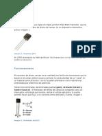 Transistor JFET.MOSFET.RECTIFICADOR CONTROLADO DE SILICIO (SCR).  TIRISTOR DE CORRIENTE ALTERNA (TRIAC).Optoacoplador