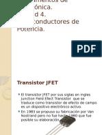 Fundamentos de electrónica.Unidad 4. Semiconductores de Potencia.