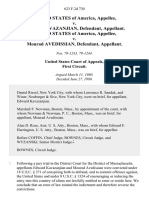 United States v. Edward Kavazanjian, United States of America v. Mourad Avedissian, 623 F.2d 730, 1st Cir. (1980)