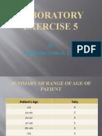 Laboratory Exercise 5