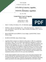 United States v. Dino Contenti, 735 F.2d 628, 1st Cir. (1984)