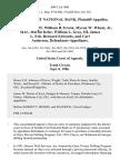 Seattle-First National Bank v. James Carlstedt, William H. Erwin, Myron W. Wheat, Jr., M.D., Martin Itzler, William L. Gray, Iii, James L. Erb, Bernard Edwards, and Carl Anderson, 800 F.2d 1008, 1st Cir. (1986)