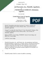 Flotech, Inc., and Fluoramics, Inc. v. E.I. Du Pont De Nemours & Company, 814 F.2d 775, 1st Cir. (1987)