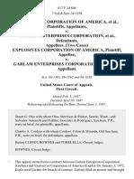 Explosives Corporation of America v. Garlam Enterprises Corporation, (Two Cases) Explosives Corporation of America v. Garlam Enterprises Corporation, 817 F.2d 894, 1st Cir. (1987)