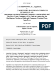 Thomas J. Redmond, Jr. v. Burlington Northern Railroad Company Pension Plan Burlington Northern Railroad Company, a Corporation and the First Trust Company of St. Paul as Trustee for the Burlington Northern Railroad Company Pension Plan, 821 F.2d 461, 1st Cir. (1987)