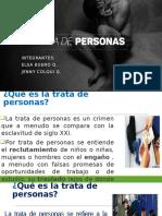 Exposicion de Trata de Personas
