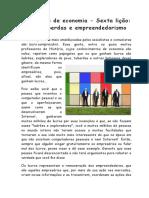 6. Dez Lições de EconoEconomia mia _ Sexta Lição (1)