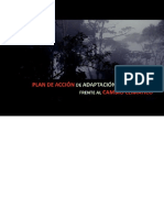 Plan Cambio Climatico