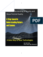 New Understanding of Gravity and Wave Particle Duality