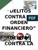Delitos Contra El Orden Financiero Caratulas