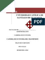 RUTA EFICAZ DEL TRANSPORTE DE MERCANCÍAS POR CARRETERA, EVALUADO CON INNOTRANSMER