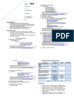Cronograma de Física Fundamental, Tercero Básico.