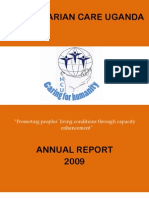 Annual Report 2009 Humanitarian Care Uganda