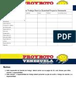 Responsabilidades de Trabajo Para La Juventud Proyecto Venezuela