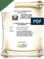 Constitucion Legal de Las Empresas
