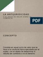 7.Teoría de La Antijuridicidad