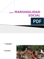 La Marginalidad Social 1