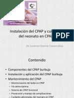 Instalacion cvcvcvDel CPAP y Cuidados Del Neonato Curso Taller Intl CPAP y VNNI